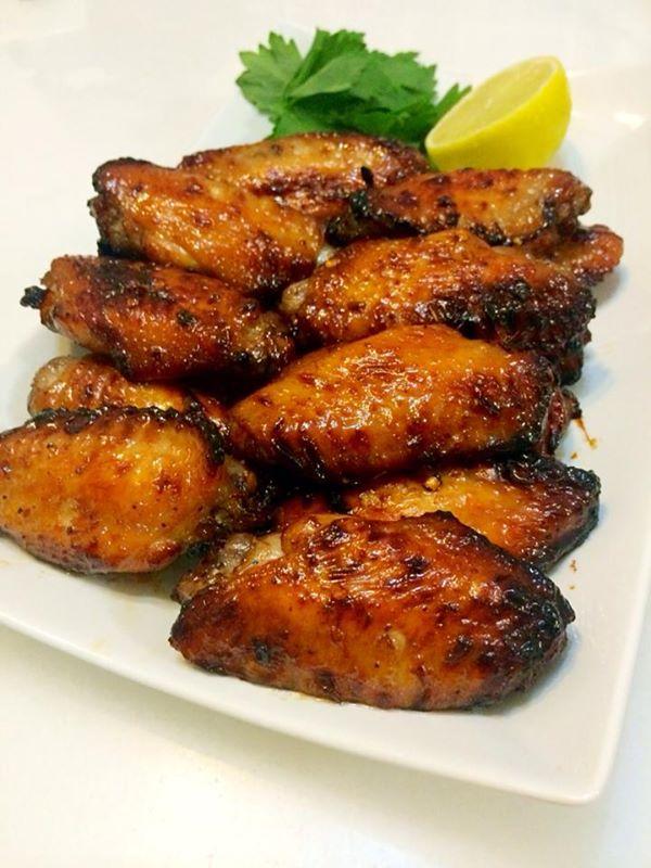 Пилешки крила с мед