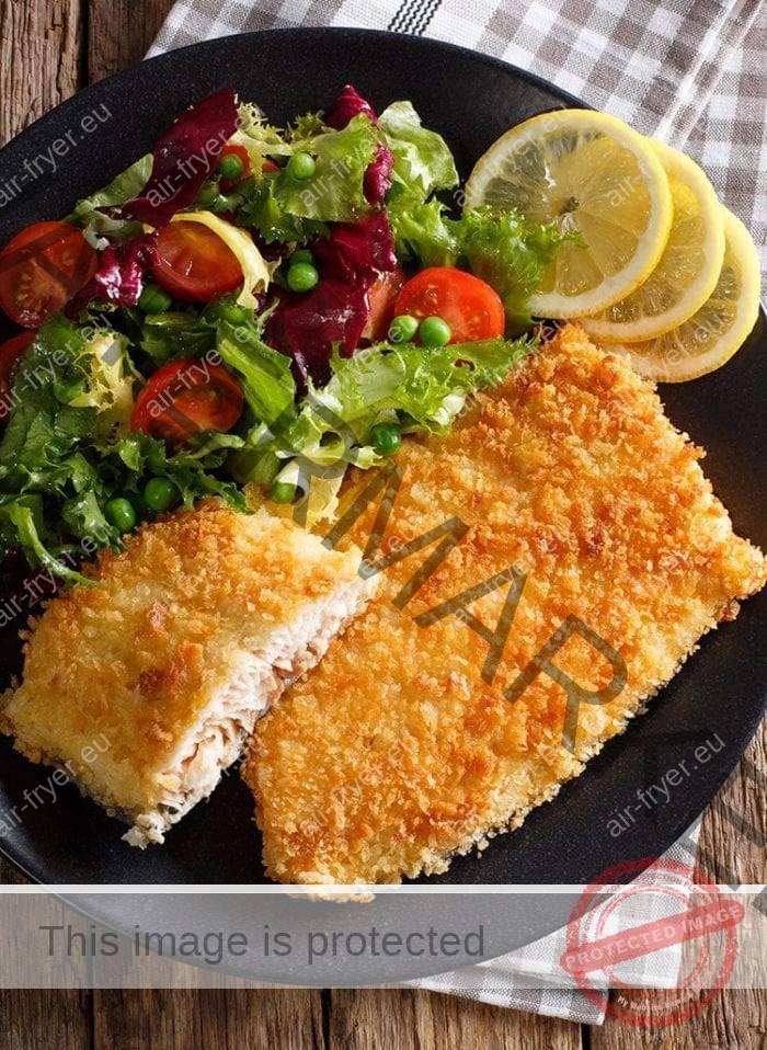 Рибно филе на въздушен фритюрник