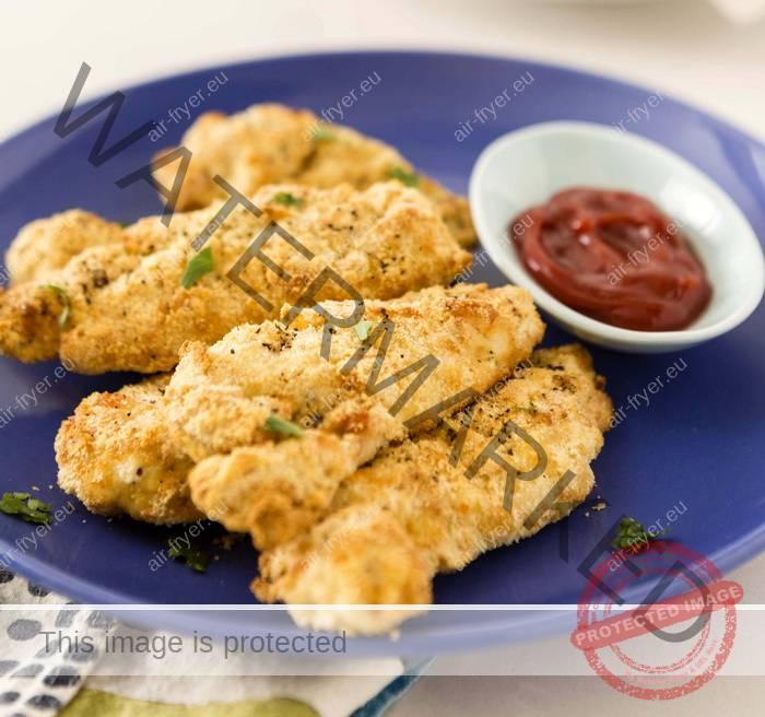 Пържено пилешко месо