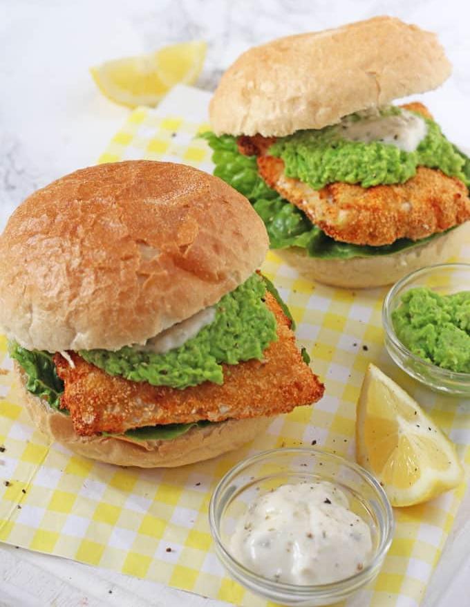 Сандвич с пържена риба
