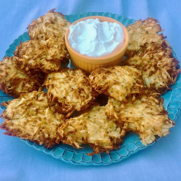 Картофени кюфтета латкес